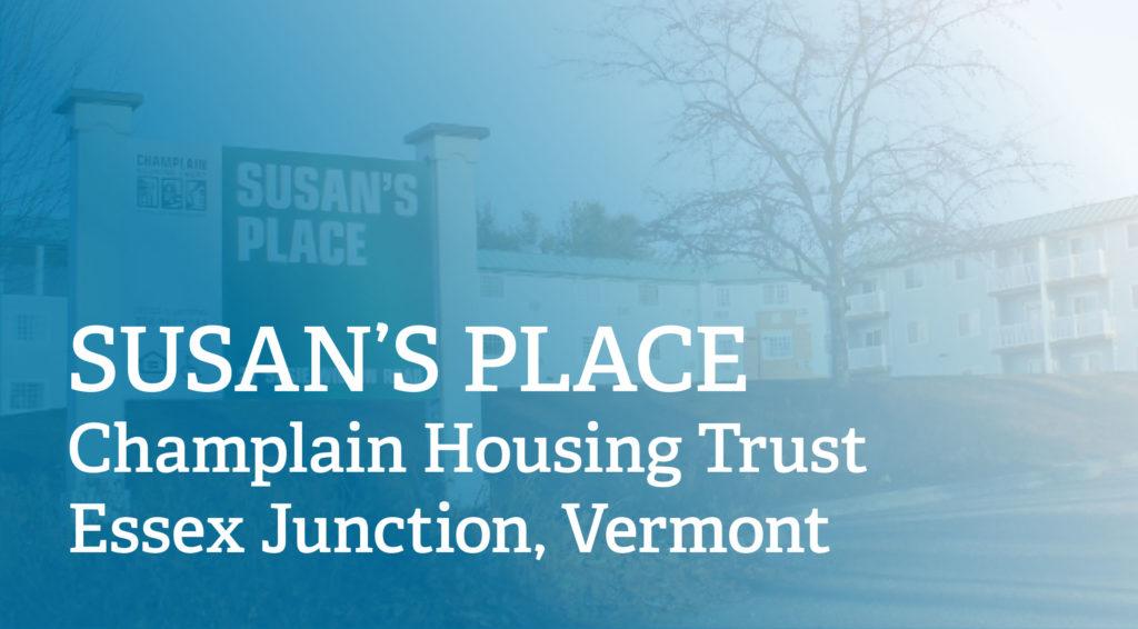 Susan's Place - Champlain Housing Trust - Essex Junction, Vermont